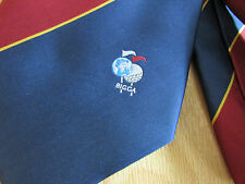 BIGGA British and International Greenkeepers GOLF Association Tie  SEE PICTURES