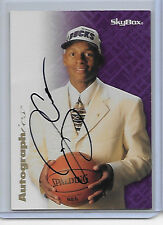 "1996-97 SKYBOX AUTOGRAPHICS RAY ALLEN ROOKIE RC AUTO SIGNATURE ON CARD SP ""BUCKS"