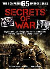 Secrets of War - The Complete 65 Episode Series, Acceptable DVD, Charlton Heston