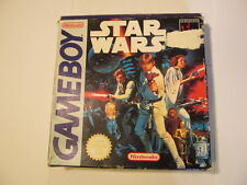 NINTENDO GAMEBOY STAR WARS THE ORIGINAL GAME DMG-WS-RUR