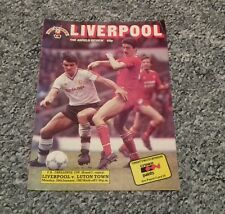 224) Liverpool v Luton Town fa cup 26-1-1987