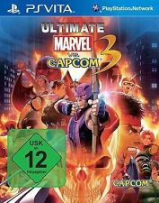 Sony Playstation Vita PSV PSVita Spiel * Ultimate Marvel vs. Capcom 3 ***NEU*NEW