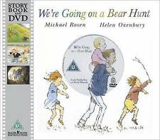 We're Going on a Bear Hunt Book & DVD Michael Rosen NEW Paperback FREE P&P
