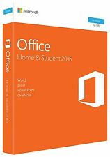 Microsoft Office Home & Student 2016 Word Excel PowerPoint OneNote OneDrive 1PC