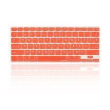 """Russian / English ORANGE Silicone Keyboard Cover for Macbook Pro 13"""" 15"""" 17"""""""