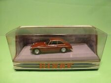DINKY TOYS DY3 MG B GT V8 1973  - RED/BROWN 1:43 - GOOD IN CONDITION  BOX