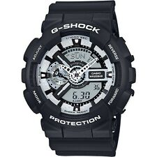 NEW Casio G-Shock Men's Chronograph Quartz Watch - GA-110BW-1A