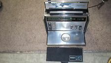 vintage ZENITH TransOceanic Solid State model 7000 Royal Radio w/chart