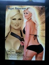 PLAYBOY BENCHWARMER MEGAN HAUSERMAN GOLD 2007