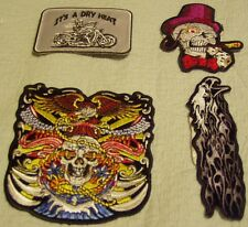 Hot Leathers Biker Motorcycle Patches Lot #18