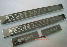 Door sill scuff plate Guards For Land Range Rover sport 2011 2012