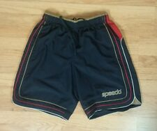 Vintage 80s 90s Speedo Swimsuit Swim Trunks Board Shorts M Surf Beach Baggies