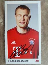 Holger Badstuber (28) - ORIGINAL signiert - Bayern München Saison 2015/2016