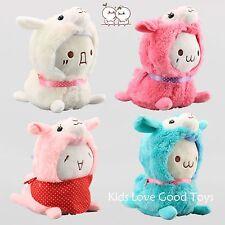 4X JP Cosplay Kaomoji Kun & Alpaca Arpakasso Alpacasso Plush Toy Soft Doll 7''