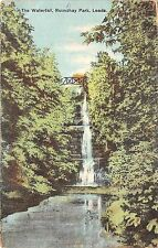 BR65502 the waterfall roundhay park leeds  uk