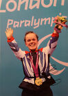 ELLIE SIMMONDS Signed 16x12 Photo PARALYMPIC GOLD Medal CHAMPION COA