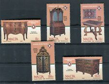Malta 2002 Tesori di Malta mobili antichi MNH