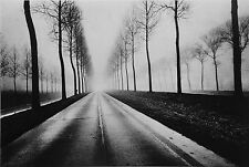 Jeanloup Sieff Limited Ed. Photo Heliogravure 24x31cm Route belge en hiver, 1971