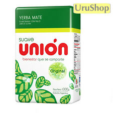 Y37 UNION SUAVE 1KG LOOSE LEAF YERBA MATE CON PALOS/WITH STEMS