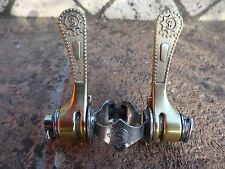 Vintage Simplex  SLJ retro friction gold shifters