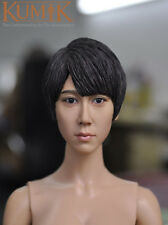 "KUMIK KM15-26 1/6 Scale Beauty Headplay Female Head Sculpt for 12"" Figure"