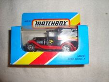 MATCHBOX MB-38 FORD MODEL A VAN - ISLE OF MAN TT87 - LOW PRICE -LOOK-!!!