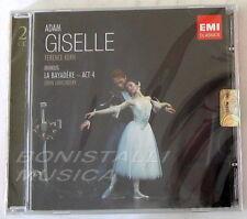 ADAM A. - GISELLE,  KERN + MINKUS, BAYADERE act 4  - 2 CD Sigillato