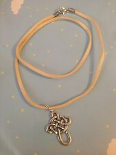 Celtic Cross Necklace Chinese Knot Pretty Christian Catholic Goth Steampunk NEW