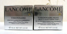LANCOME VISIONNAIRE SET - DAY & NUIT CREAMS BNIB - CELLOPHANE SEALED