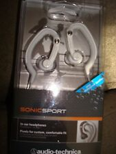 SONICSPORT IN-EAR HEADPHONES AUDIO-TECHNICA WHITE