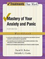Mastery of Your Anxiety and Panic: Workbook by David H. Barlow Paperback Boo