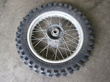 1985 - 1990 Honda XR600R Rear Wheel Aluminum Rim and Good Tire 2.15 x 17
