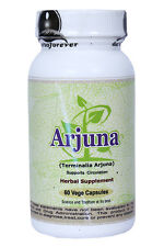 Arjuna (Supports Healthy Cardiovascular Function) 60 Vege Capsules, 800 Mg Each