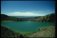 036087 le lac volcanique parc national de Tongariro North Island A4 papier photo