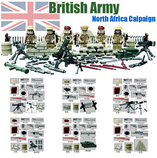 LEGO COMPATIBLE BRITISH ARMY MILITAR SWAT MINIFIGURES BLOCKS TOY TOYS JUGUETES..