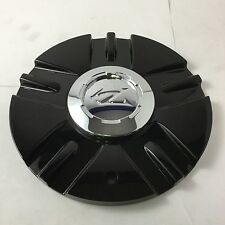 "Zinik Z12 Mazotti Wheel Center Hub Cap Black SI-CAP-Z151 8"" Diameter ZK37"
