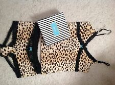 LAMB GWEN STEFANI LADIES ANIMAL PRINT CAMI TOP & SHORT/ UNDERWEAR SET*NEW& BOXED