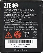 NEW OEM ZTE LI3715T42P3H415266 BATTERY FOR AVAIL Z990 N990, N760, N780, V881