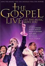 Gospel Live: Let the Music Move You (DVD, 2006)Anthony Anderson-WIDESCREEN--NEW-