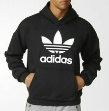 LARGE adidas Originals Men's ADI COLOR FASHION HOODIE Style: AY7967 Black Hoody