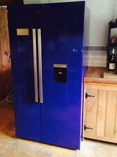 "American fridge freezer , none plumbed with water and ice.  Range ""aga"" Blue"