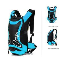 12L Waterproof Cycling Bicycle Shoulder Backpack Hydration Water Bag F9B4