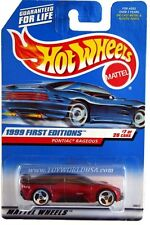 1999 Hot Wheels #675 First Editions #7 Pontiac Rageous tinted roof top