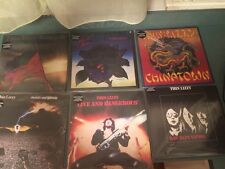 Thin Lizzy Limited Lp Record Album Lot Color Vinyl Oop SUPER RARE not cd NR!