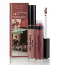 ��Laura Geller Lip Lattes Colour Drenched Lip Gloss Duo New & Boxed��