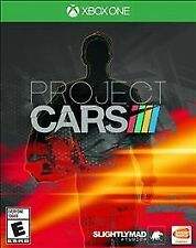 Project Cars XBOX ONE VIDEOGAME  NEW FACTORY SEALED