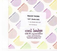 (DZ414) Tracey Thorn, Joy - 2012 DJ CD