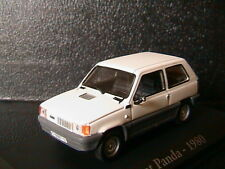 SEAT PANDA 45 WHITE RBA COLLECTABLES 1/43  BOITIER BLISTER WEISS BIANCA