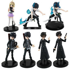7pcs Ao no Blue Exorcist Half Age Characters PVC Figure Set Loose