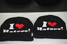 I Love Haters Beanie Cap DGK Blogger Last Kings Obey Dope Tisa YMCMB Vintage New